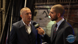 GSP - Ariel Helwani UFC Interview